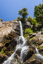 Grizzly Falls, Sequoia National Forest, California, USA Royalty Free Stock Photo