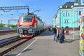 Grjazi russia train station major railway hub in the south eastern railway a Royalty Free Stock Photo