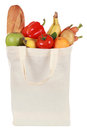 Groceries in a bag Royalty Free Stock Photo