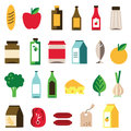 Groceries Icon Royalty Free Stock Photo