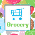 Grocery Colorful Abstract Background