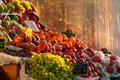 Grocery fruit stall Royalty Free Stock Photo
