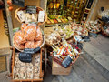 Grocery shop in Italy Stock Photography