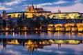 grodowej Europe starej fotografii Prague rzeczny podróży vltava