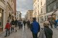 Grodzka Street in Krakow Royalty Free Stock Photo
