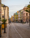 Grodzka street in Krakow Royalty Free Stock Photo