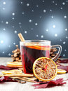Grog mulled wine Royalty Free Stock Photo
