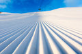Groomed snow Royalty Free Stock Photo