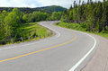 Gros morne highway in newfoundland canada Royalty Free Stock Photography