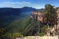 Grose Valley Blue Mountains Australia Royalty Free Stock Photo