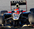 Grosjean romain Royaltyfri Bild