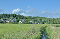 Gross zicker ruegen island baltic sea germany village of near sellin on mecklenburg vorpommern Stock Images