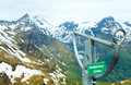 Grossglockner mountain top Royalty Free Stock Photo
