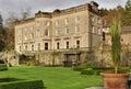 Grote Engelse Buitenhuis en tuin Royalty-vrije Stock Fotografie
