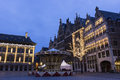 Grote Markt in Antwerp in Belgium Royalty Free Stock Photo