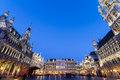Grote markt brussels belgium europe the main square and town hall of Royalty Free Stock Images