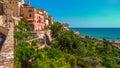 Grottammare village on the adriatic sea, Marche Royalty Free Stock Photo