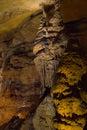Grotto stalagmits 图库摄影
