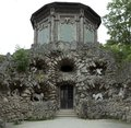 Grotto in veitshoechheim building named the formal garden of the castle Royalty Free Stock Photography