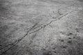 Ground cracking concrete general background illustration Stock Photography
