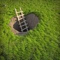 Ground hole