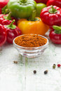 Ground paprika Royalty Free Stock Photo