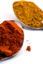 Ground spices Royalty Free Stock Photo