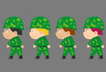 Ground troops Royalty Free Stock Photo
