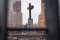 Ground Zero Cross Royalty Free Stock Photo