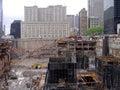 Ground zero NY Royalty Free Stock Photo