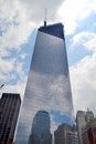 Ground Zero - One World Trade Center Stock Photo