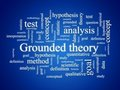 Grounded theory. Royalty Free Stock Photos