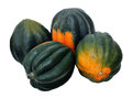 A group of acorn squash Stock Photo