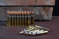 Group of ammunition geometrically placed