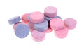 Group of antacid tablets Stock Photography