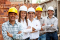 Group of architects and engineers Stock Photography