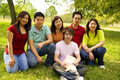 Group Of Asian Teens Stock Images