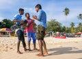 Group of Beach Musicians