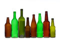 Group of bottles Royalty Free Stock Photos