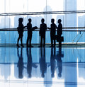 Group of business people meeting Royalty Free Stock Photo