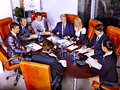 Group business people in office happy Stock Photos