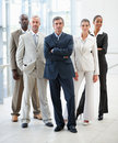 Group of business people posing together Royalty Free Stock Photography