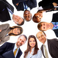 Group of business people standing Royalty Free Stock Images