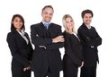 Group of business people together Royalty Free Stock Photography