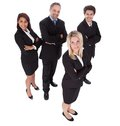 Group of business people together Stock Images