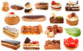 Group of cakes Royalty Free Stock Images