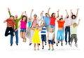Group Celebration Diversity Community Concept Royalty Free Stock Photo