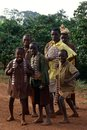 A group of children in Burundi Royalty Free Stock Images