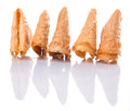A Group of Chinese Love Letter Biscuit II Royalty Free Stock Photo