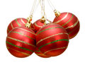 Group of christmas balls Stock Photo